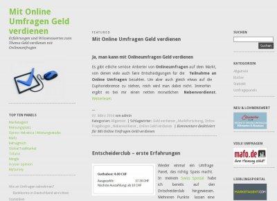 Mit Umfragen Geld Verdienen Österreich