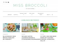 Miss Broccoli - Mama Foodblog