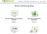 MORECLIX - Online Marketing Blog